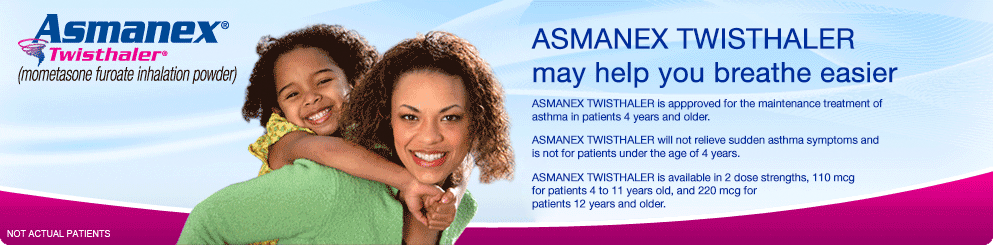 ASMANEX® Twisthaler® (mometosone furoate inhalation powder)
